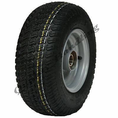 13x5.00-6 grass tyre on wheel rim - lawnmower- cart- buggy- quad ATV trailer