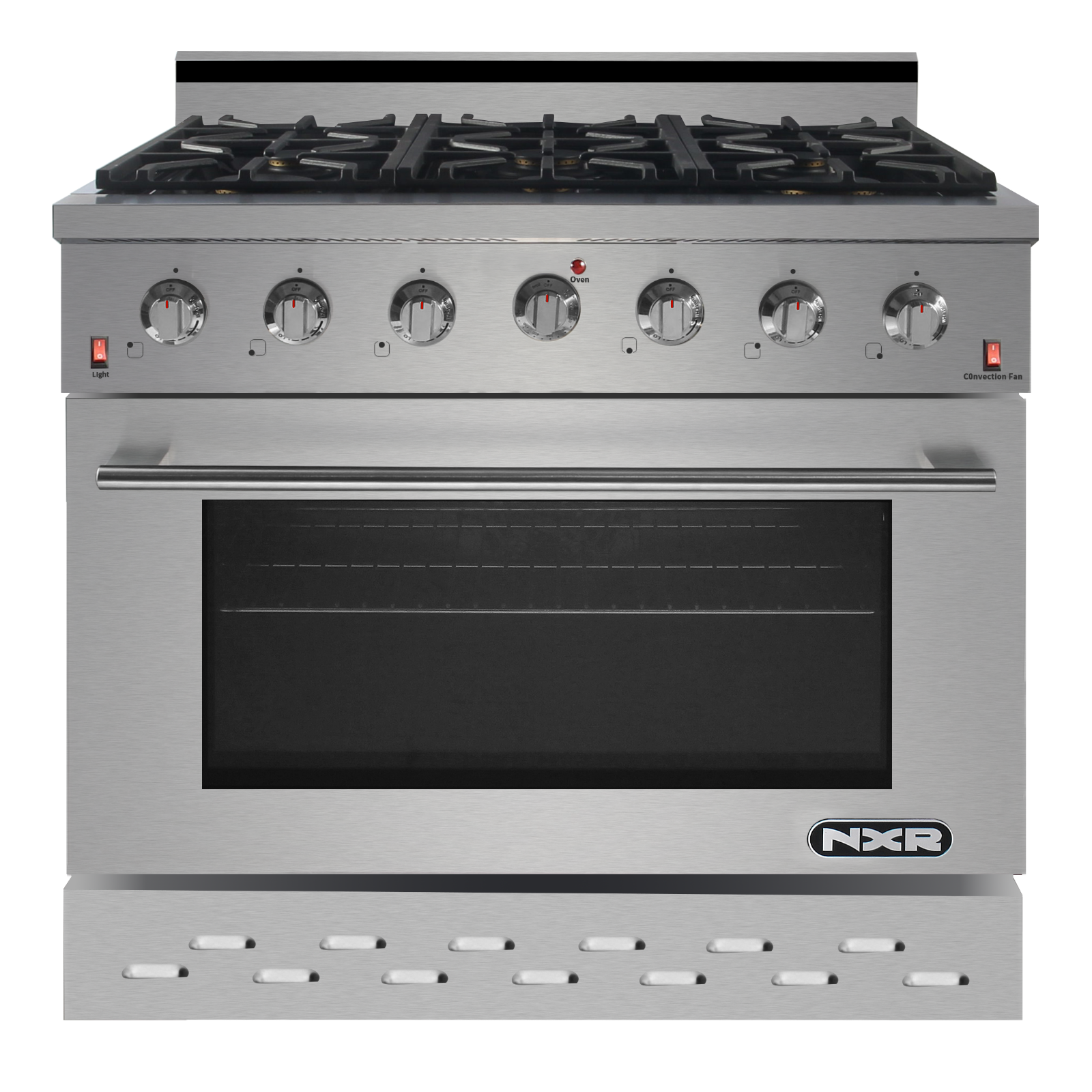 "NXR SC3611 36"" 5.5 cu.ft. Professional Style Gas Range with"