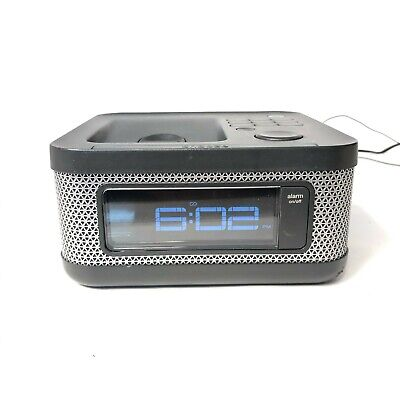 Memorex Mi4604PBLK - Alarm, Clock, FM Radio, Ipod Dock - Tested