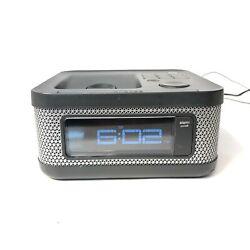 Memorex Mi4604PBLK - Alarm, Clock, FM Radio, Ipod Dock - Tested