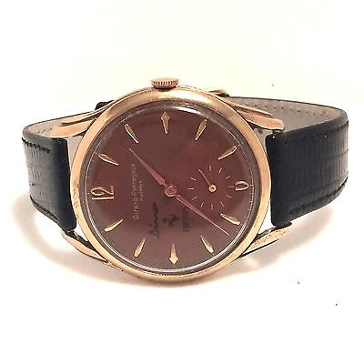 VINTAGE 1950'S 37MM GIRARD-PERREGAUX FERRARI MANUAL WINDING!!! ***USA SELLER***
