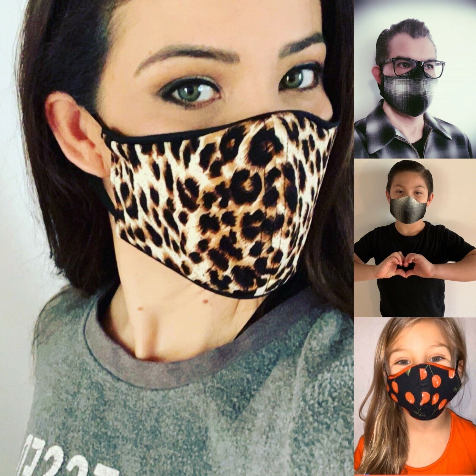Fashion Protective Face Mask for Women,Men,Children Accessories