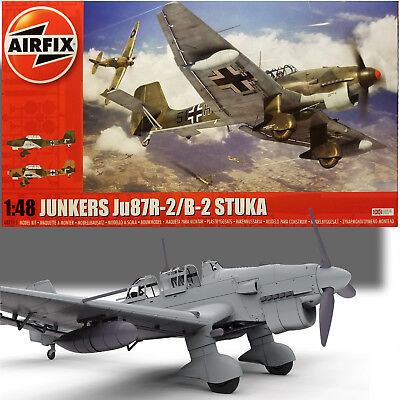 Used, AIRFIX 1/48 JUNKERS Ju87R-2/B-2 STUKA MODEL KIT A07115 for sale  Titusville