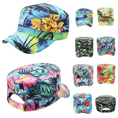 Hawaiian Baseball Cap Cadet Hat Floral Hat Fashion Casual Tropical Adjustable ()
