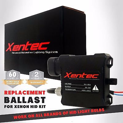1x XENTEC XENON HID BALLAST REPLACEMENT H4 H11 H13 9006 9007 CAR HEADLIGHT FOG