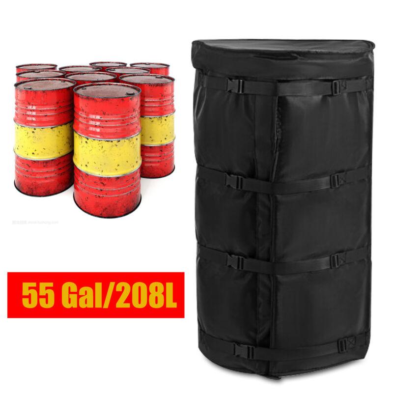 55Gallon Electric Drum Heater Blanket Full Coverage Barrel Heating Blanket 1100W