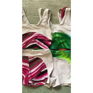 A Star Leotards - crop top and shorts sets size 8 Edgewater Joondalup Area Preview