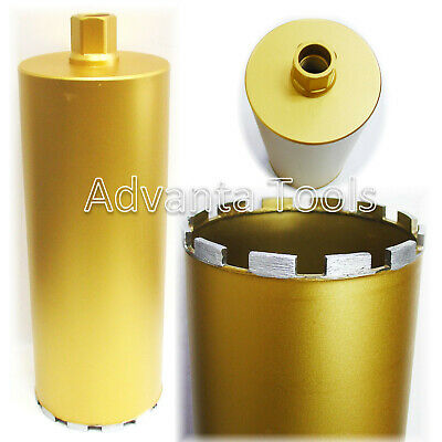 8 Diamond Core Bit For Wet Drilling Moderate Steel Reinforced Concrete