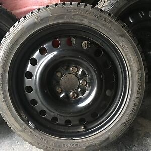 205/50/17 excellent winter tires and rims