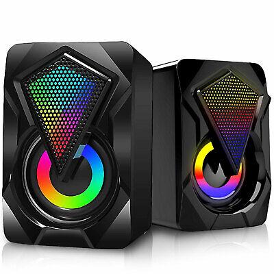 RGB LED CPU Cooler Fan Heatsink For Intel LGA 1156/1155/1151