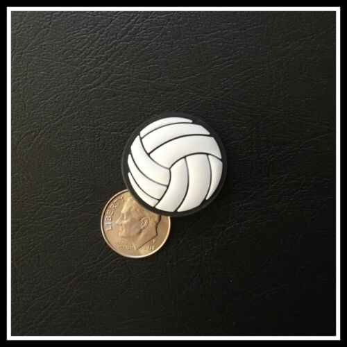 Shoe Charm for Crocs Sports VOLLEYBALL White