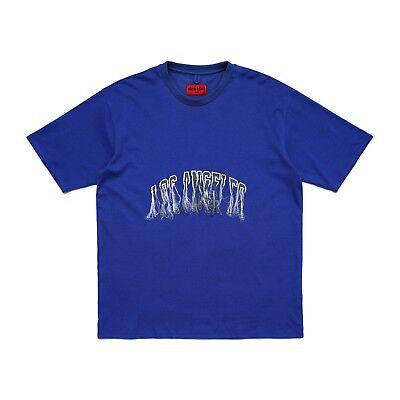 424 Fairfax Doublet Stadium Tee Size Large Los Angeles Blue t shirt B