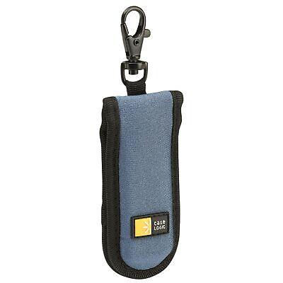 Case Logic JDS-2 USB Drive Shuttle 2-Capacity (Black/Blue) Blue 2 Capacity