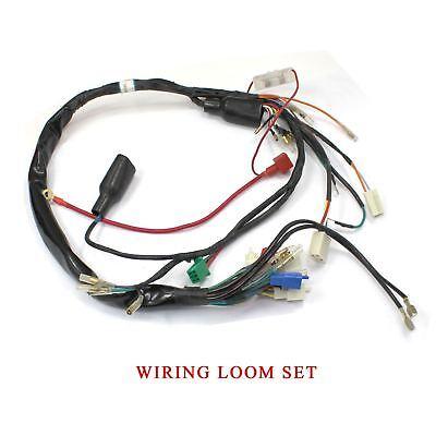 for honda z50 mini trail gorilla 50 wiring harness loom control  honda 50 honda wiring harness #2