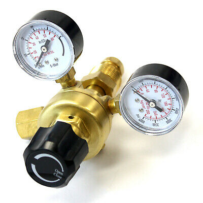 Cga580 Argon Co2 Regulator Gauge Flow Meter For Mig Tig Welding Gas Welder
