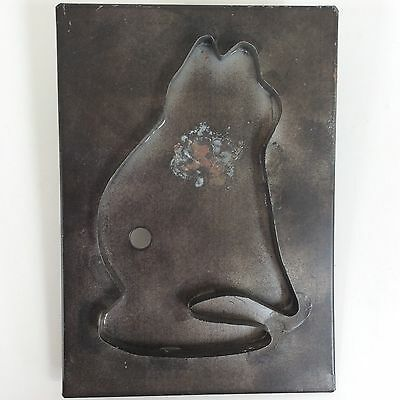 Cat Big Cookie Cutter Flat Back Tin  6