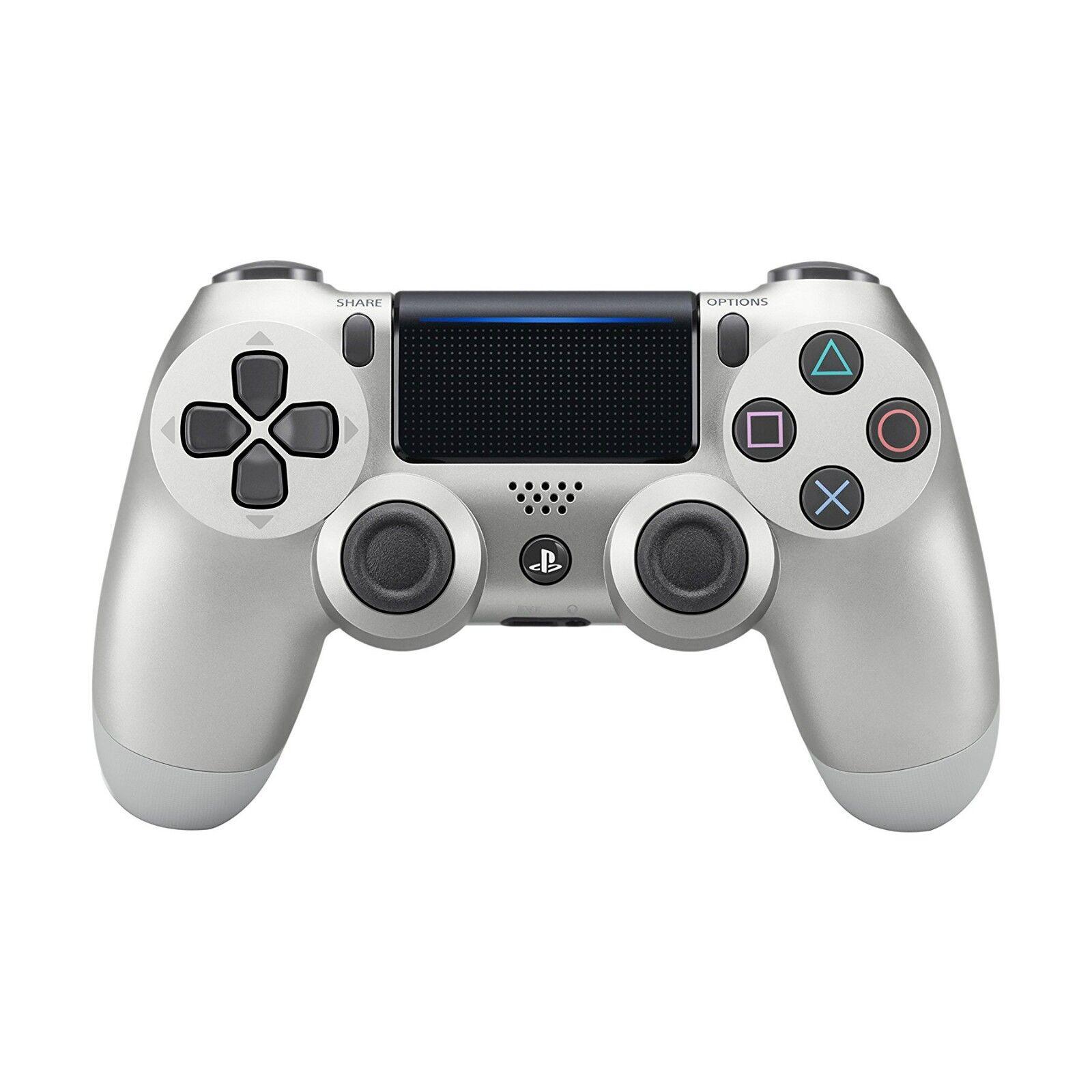 Купить Sony PlayStation 4 - Original - PS4 Sony Dualshock 4 Wireless Controller for PlayStation 4 - Silver - CUH-ZCT2U