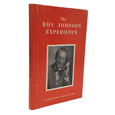 1970 1st Edition The Roy Johnson Experience SIGNED & INSCRIBED by Roy MAGIC