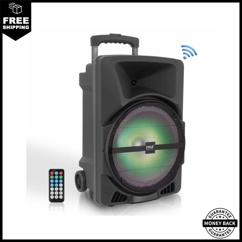 Pyle Wireless Portable PA Speaker System 800W High Powered B