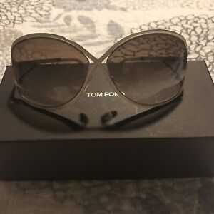 22a712d535a4d Tom Ford  rickie  Tf179 Gold and cream 64mm Sunglasses