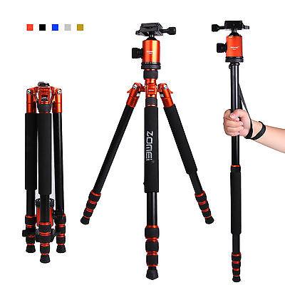 Professional Portable Heavy Duty Tripod Monopod&Ball Head Travel for DSLR Camera