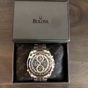 Men's Bulova Precisionist Chronograph Watch