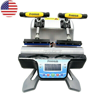 Freesub Automatic Double Mug Heat Press St-210 Sublimation Transfer Printer Us-a