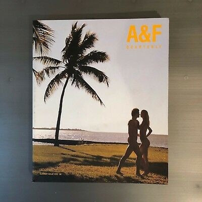 ABERCROMBIE & FITCH Summer 2002 Catalog A&F Quarterly BRUCE WEBER