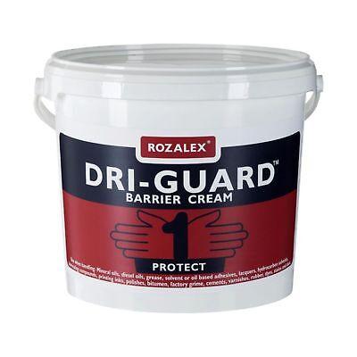 5L Rozalex® 'Dri-Guard®' Barrier Cream 5Ltr Bucket RZ1005 - FREE NEXT (Guard Barrier Cream)