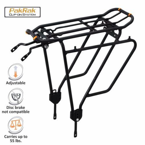 Ibera Bike Rear Carrier Plus for Non-Disc Brake MTB Road Bike Luggage Cargo Rack