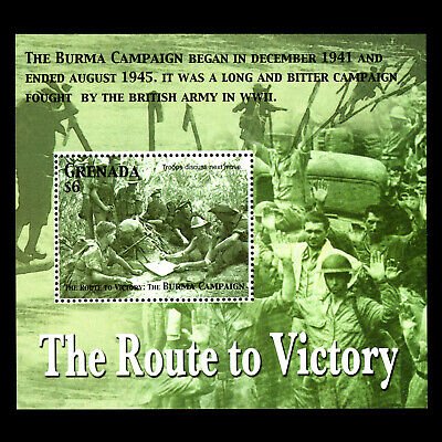 Grenada 2005 - 60th Anniversary of the End of World War II - Sc 3509 MNH