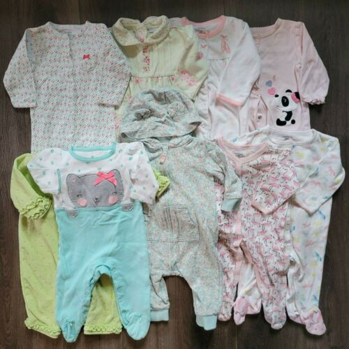 LOT Baby GIRL Clothes Carter