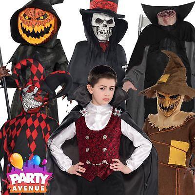 Boys Halloween Fancy Dress Costumes Trick or Treat Vampire Teen - Teen Boys Halloween Costumes