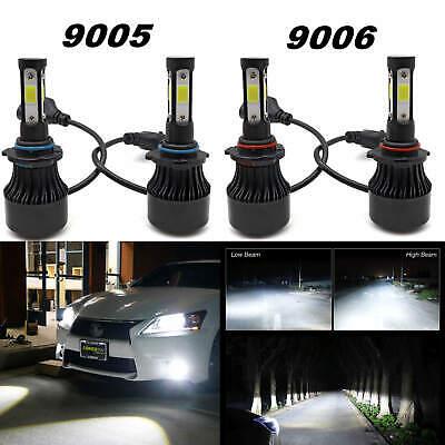Replacement 6000K LED Headlights Bulbs Kit For Honda Civic 2006--2011 Sedan 4Dr