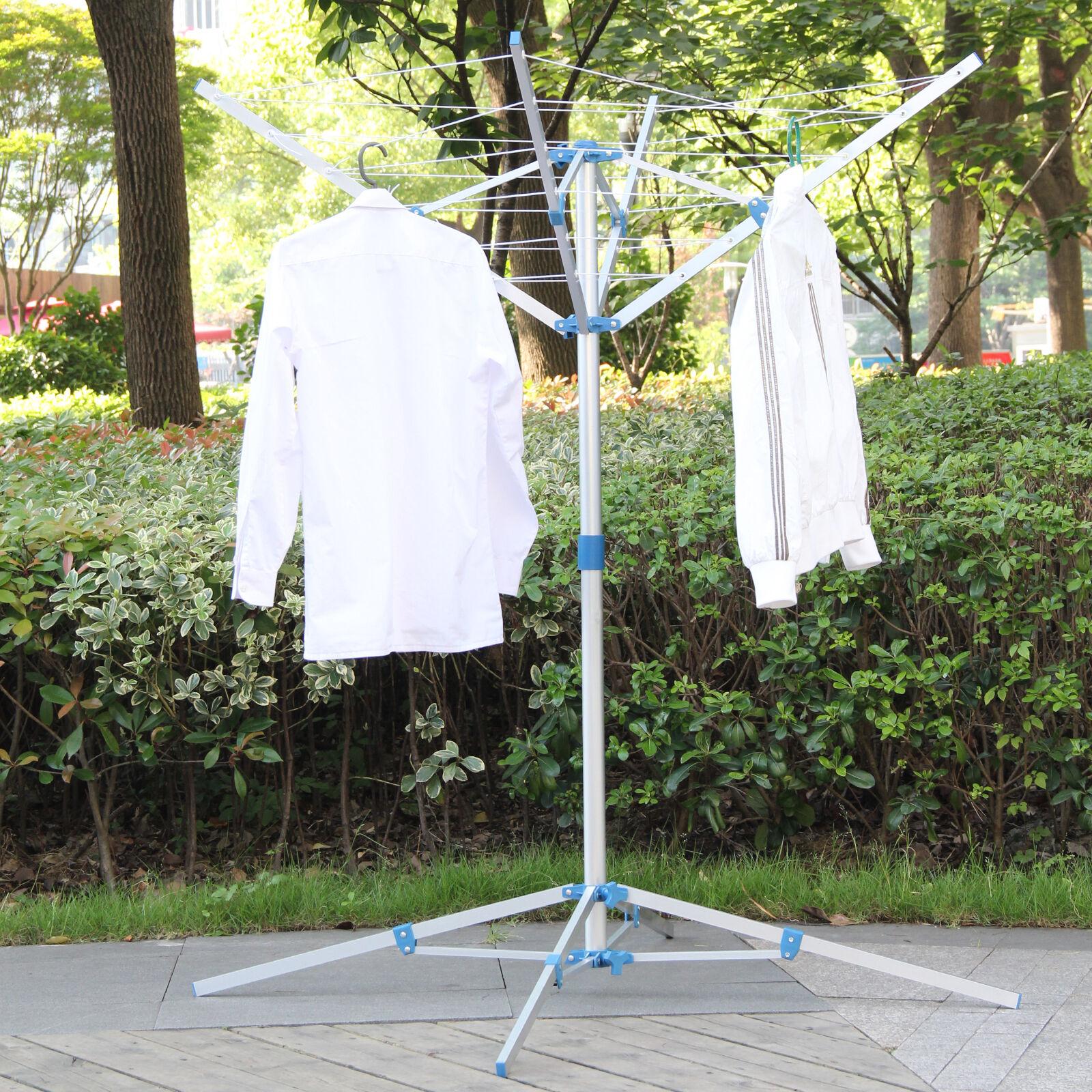 Tendedero ara a de aluminio secadora de ropa para el for Tendedero jardin