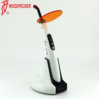 Woodpecker Dental Wireless Led Lamp Led.b Curing Light 1200mwcm Original