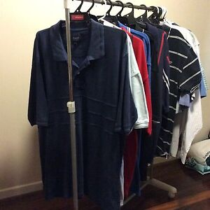 Men's shirts and polos 22, $10 each or $140 the lot Eight Mile Plains Brisbane South West Preview