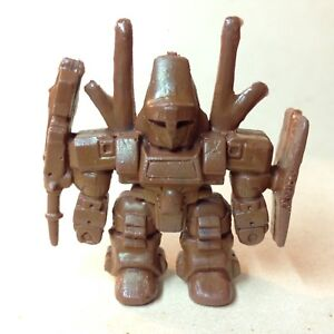 "1980's "" unknown"" mini robot figure"