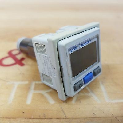 Smc Zse30a-01-p High Precision Digital Pressure Switch 2 Color. 12-24 Vdc 40 Ma