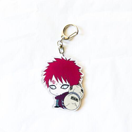 Anime Naruto Acrylic Gaara Keychain