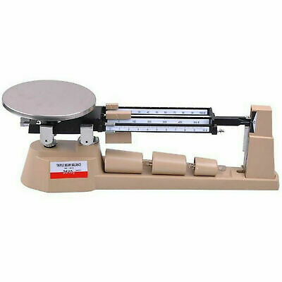 2610gx0.1g Triple Beam Pan Mechanical Balance Scale Lab Analytical Weighing Us