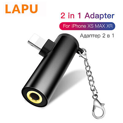3.5mm Jack Adapter For Apple iPhone 11 Pro 7 8 Plus X XR XS Earphone Headphone