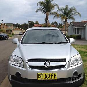2008 Holden Captiva Wagon Horningsea Park Liverpool Area Preview