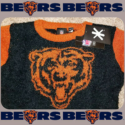 CHICAGO BEARS UGLY CHRISTMAS SWEATER WOMENS SMALL~Trusted eBay Seller Since 1999 ()