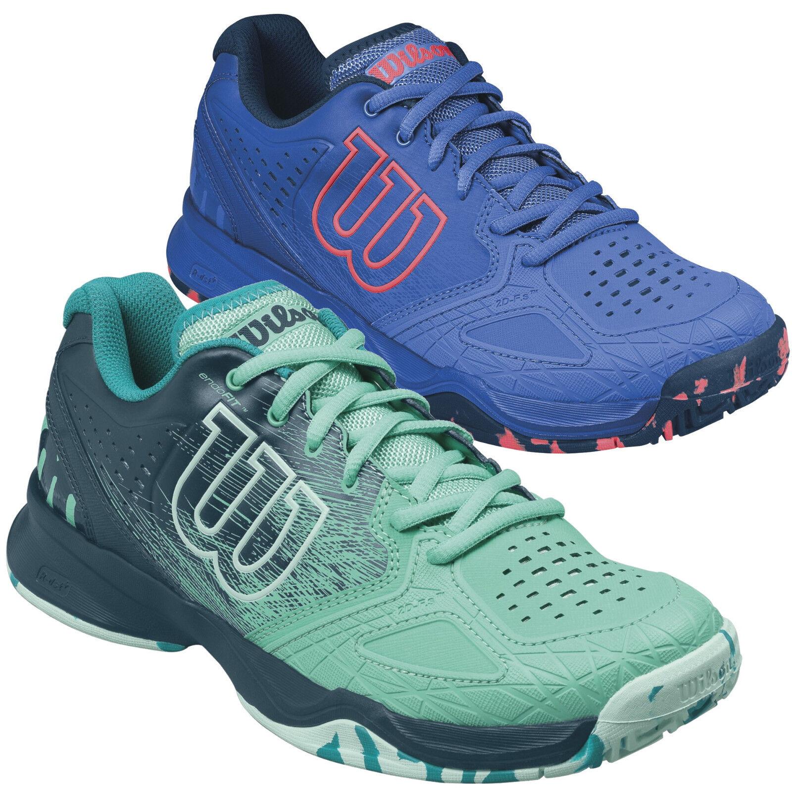 Wilson KAOS COMPOSITE Damen Tennisschuhe Outdoor WRS32450 WRS322460 blau türkis