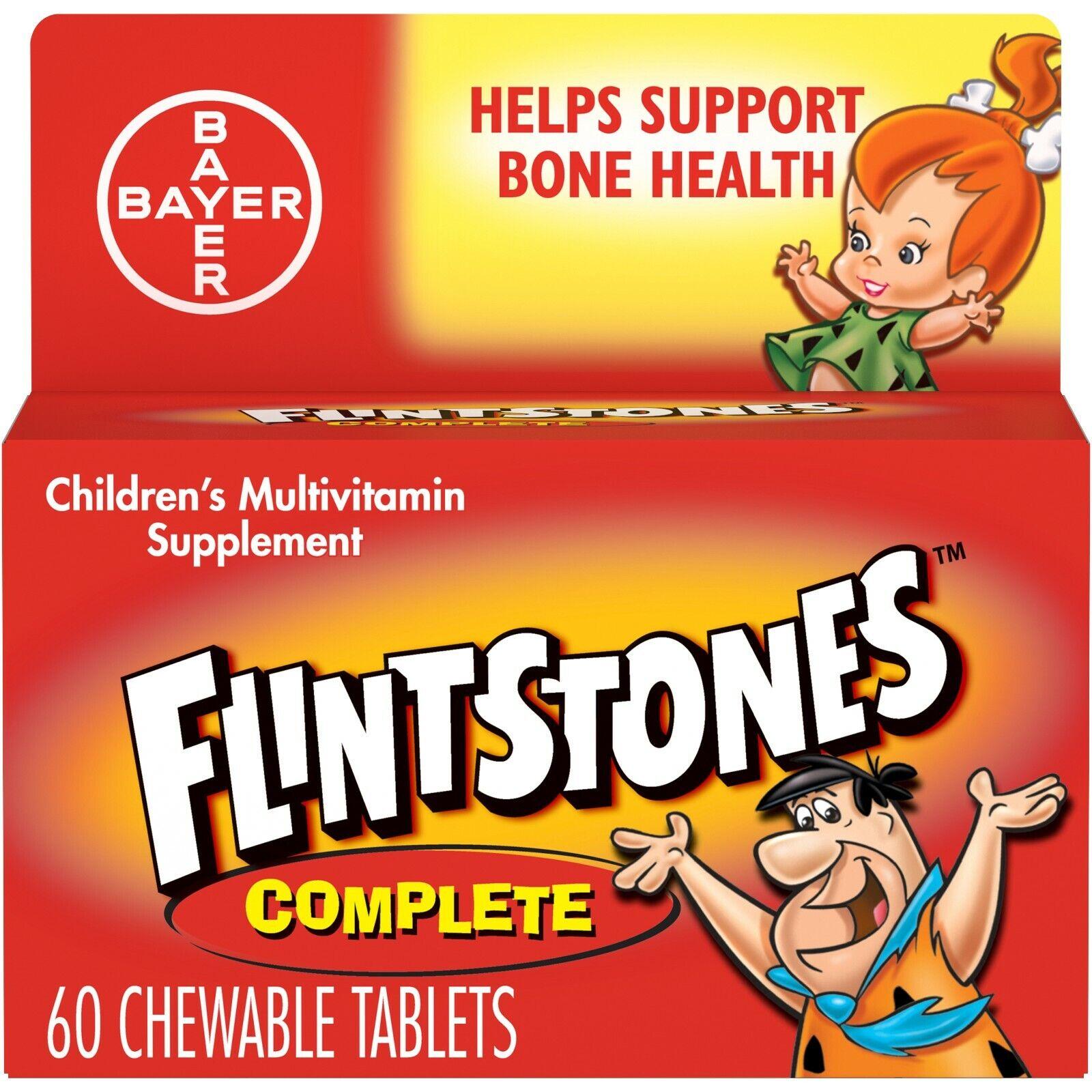 Flintstones Childrens Multivitamin Supplement, 60 tablets