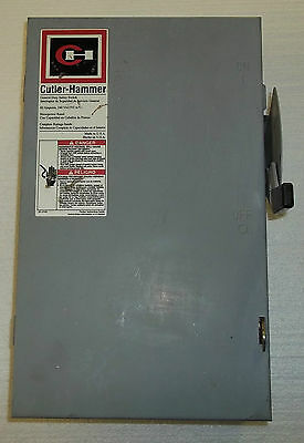 Cutler-hammer General Duty Safety Switch Electrical Box