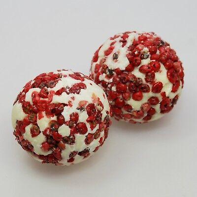 Badekugel 50 g (100g / 7,60 Eur) biologischer Schafsmilch Bombe Bad Geschenk ()