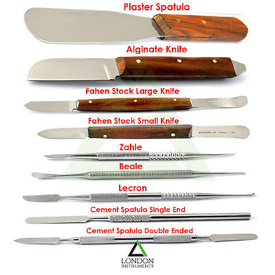 Dental Laboratory Instruments Waxing Modelling Carvers Mixing Spatula Lab Ce