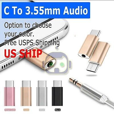 USB-C Type C Adapter Port to 3.5MM Aux Audio Jack Earphone Headphone Cable USB 3.5 Mm Jack Usb